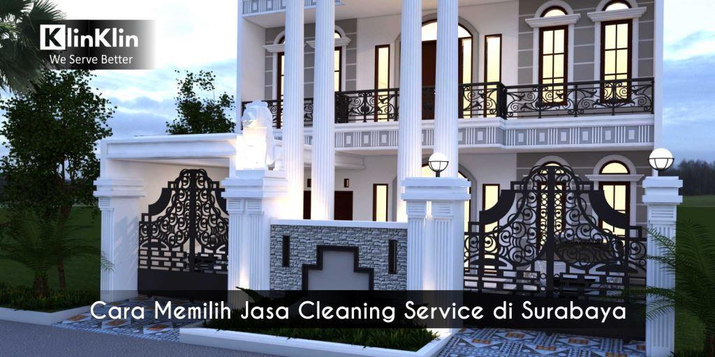 Cara Memilih Jasa Cleaning Service di Surabaya