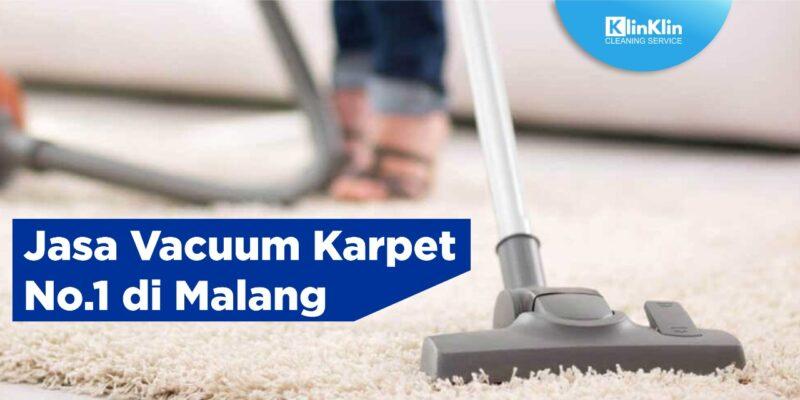 Jasa Vacuum Karpet No. 1 di Malang